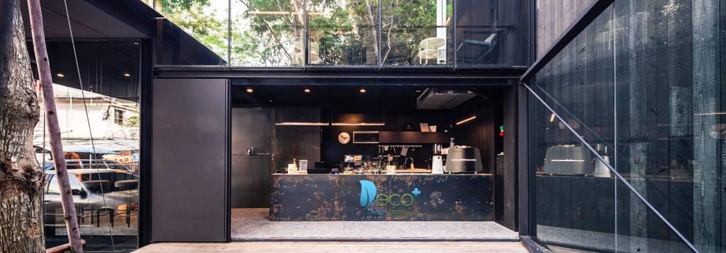 Nội thất nhà hàng & quán cafe phong cách thời thượng, hiện đại, hòa mình vào thiên nhiên