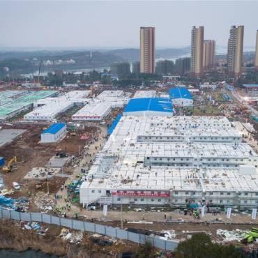 Thiết kế kiến trúc xây dựng-kỳ tích bệnh viện dã chiến Hỏa Thần Sơn