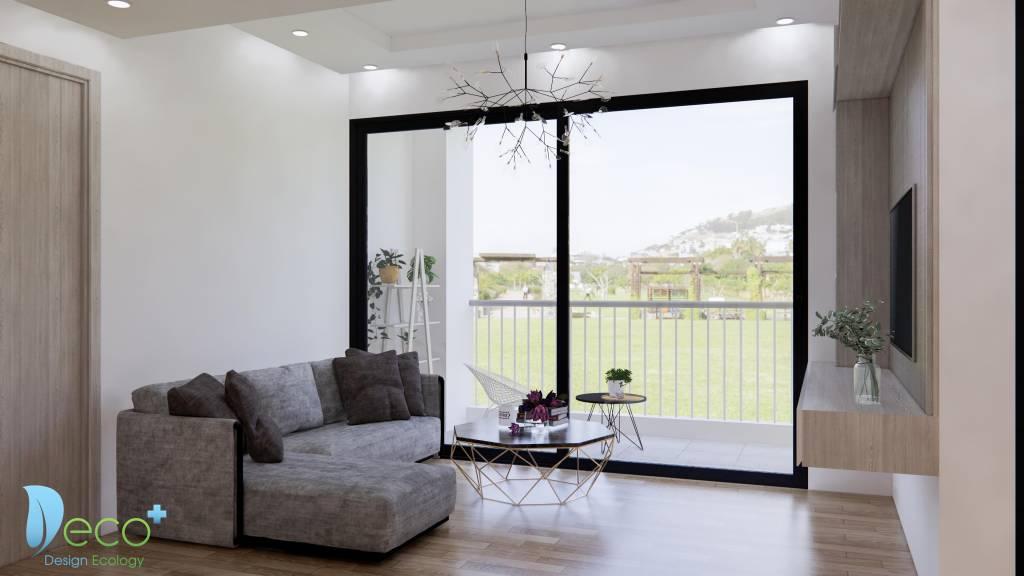 Nội thất chung cư hiện đại, đơn giản nhưng rất tinh tế