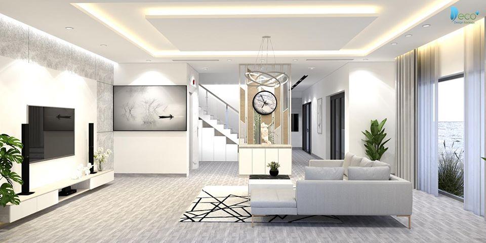 Phòng khách hiện đại Sofa êm ái cho gia chủ