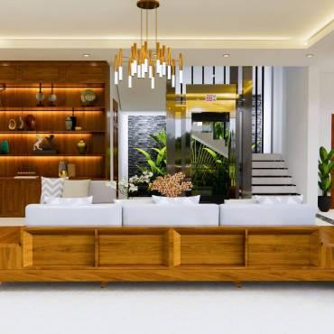 Nhà đẹp Vĩnh Phúc – Nội thất gỗ tự nhiên – Không chỉ đẹp mà còn tốt lành với sức khỏe !