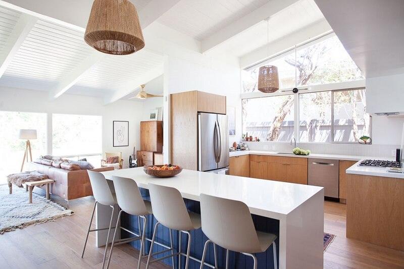 Nội thất không gian sống xanh giúp con người hướng đến sử dụng những vật liệu thân thiện