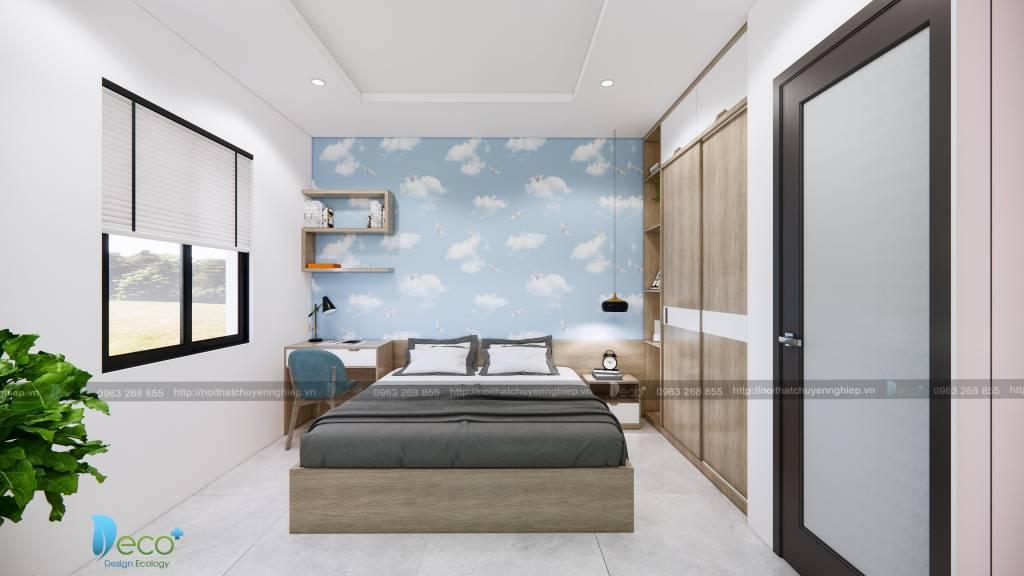 Phòng ngủ hiện đại mang đến cho khách hàng trải nghiệm thư giãn nhất cho khách hàng