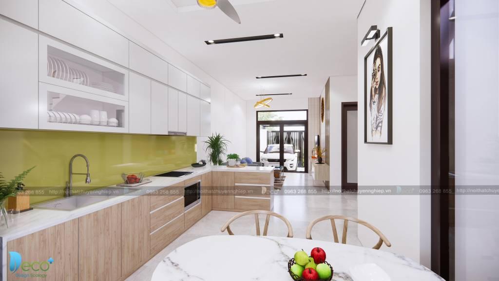 Thiết kế nội thất Căn bếp tiện nghi, khoa học