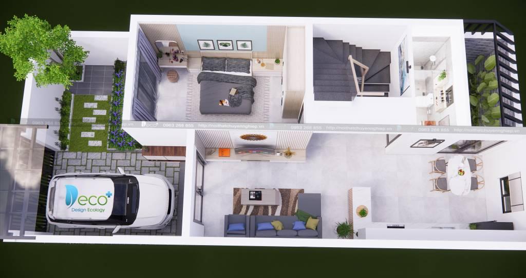 Thiết kế tổng mặt bằng nội thất căn hộ