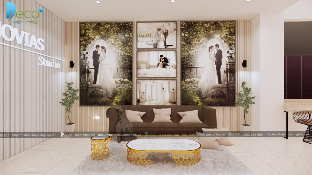 mẫu nhà đẹp vĩnh phúc - Tầng 1 thiết kế sang chảnh