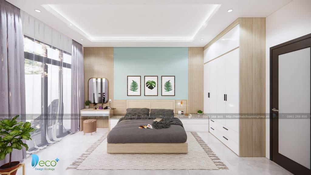 Nội thất tinh tế vĩnh phúc - Phòng ngủ thoáng đãng ấm cúng và sắp xếp khoa học