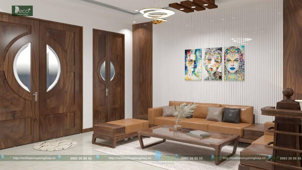 nội thất vĩnh yên vĩnh phúc - Bộ sofa hiện đại, boc