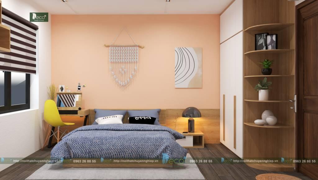 Phòng ngủ riêng tư mang phong cách riêng của từng thành viên trong gia đình