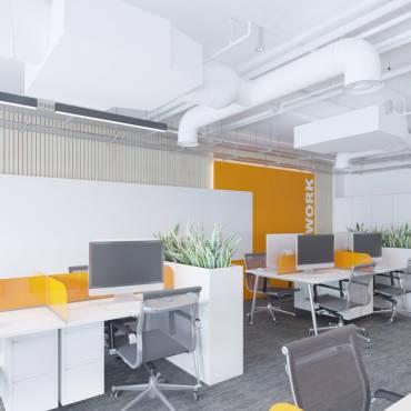 Giải pháp thiết kế văn phòng nhà máy tại KCN nhiều trải nghiệm và tương tác