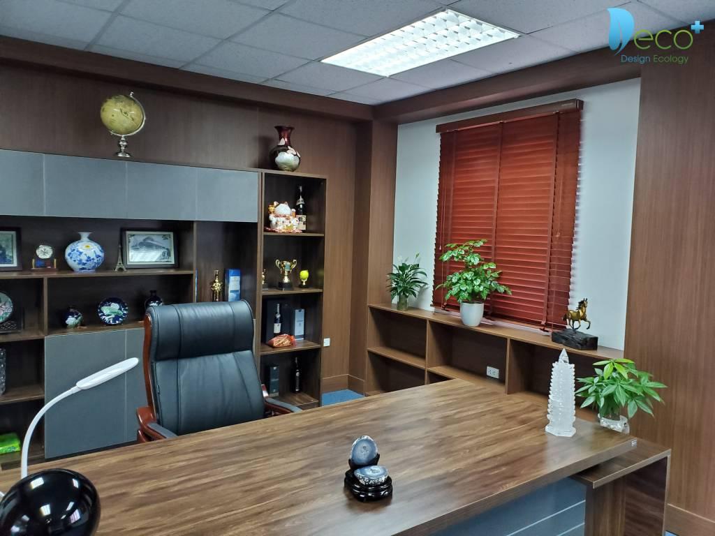 Tư vấn thiết kế văn phòng - Phòng giám đốc