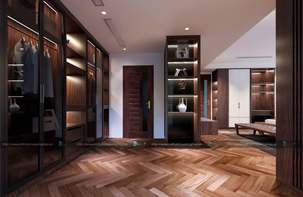 Phòng ngủ đẳng cấp sang trọng được thiết kế bởi Deco+