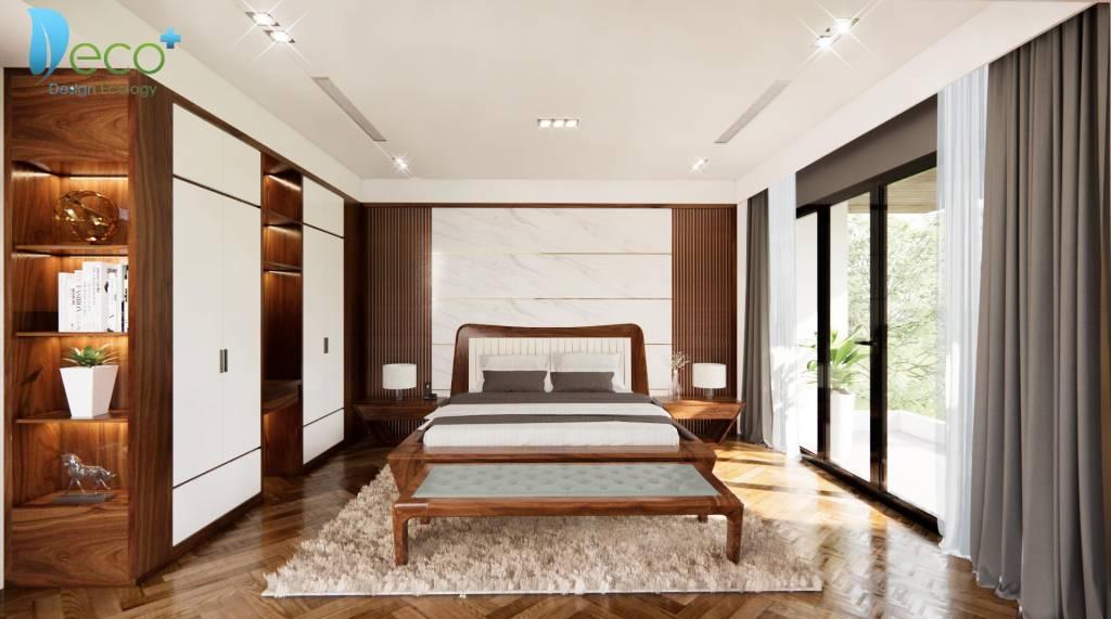 Không gian nội thất sang trọng - Phòng ngủ lịch thiệp
