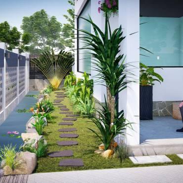 Thiết kế cảnh quan – Sân vườn