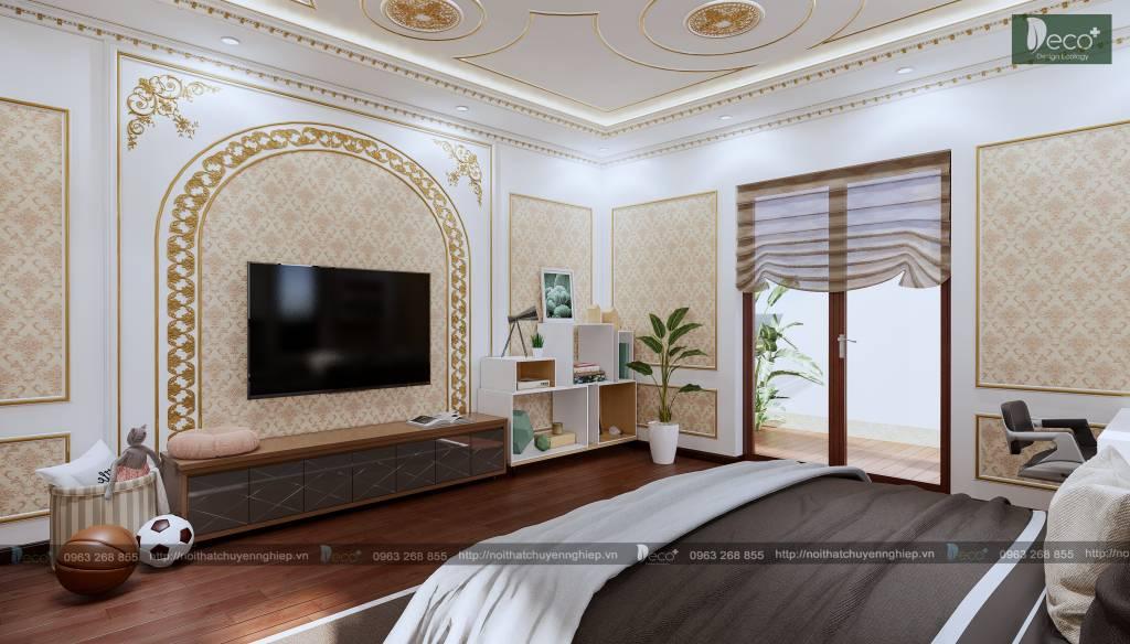 biệt thự tân cổ đẹp - Phòng ngủ 2