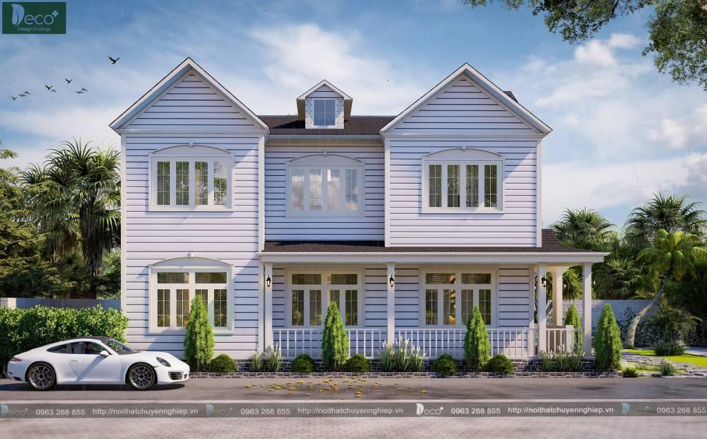 Nội thất vĩnh phúc đẹp lạ - Kiến trúc phong cách nhà Mỹ.