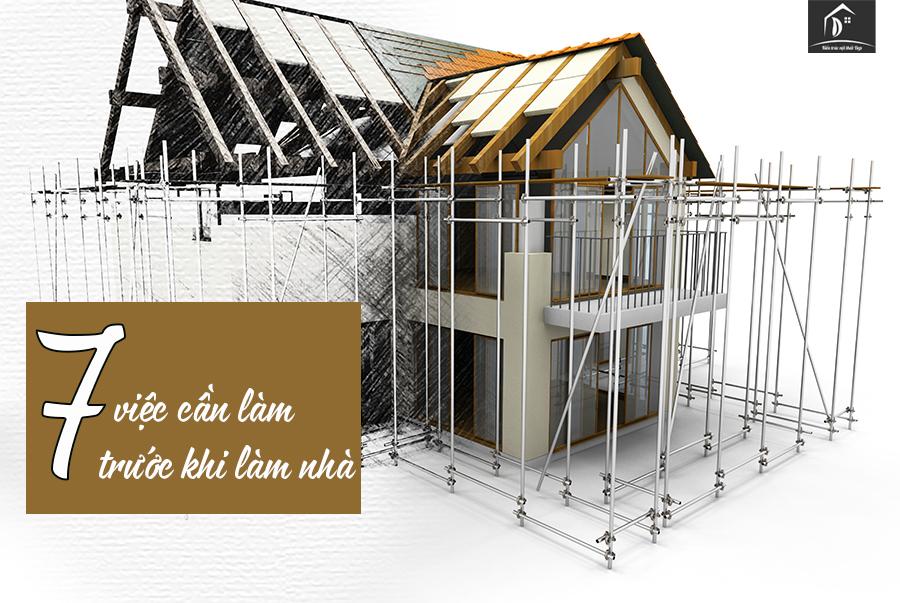 7 lưu ý khi xây nhà
