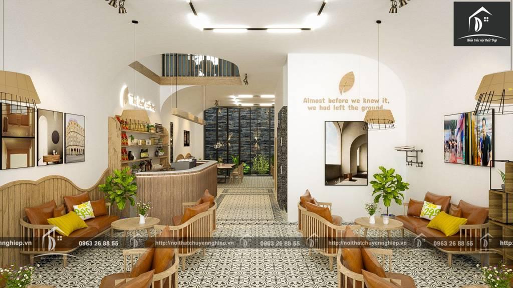 Thiết kế nội thất nhà phố kinh doanh
