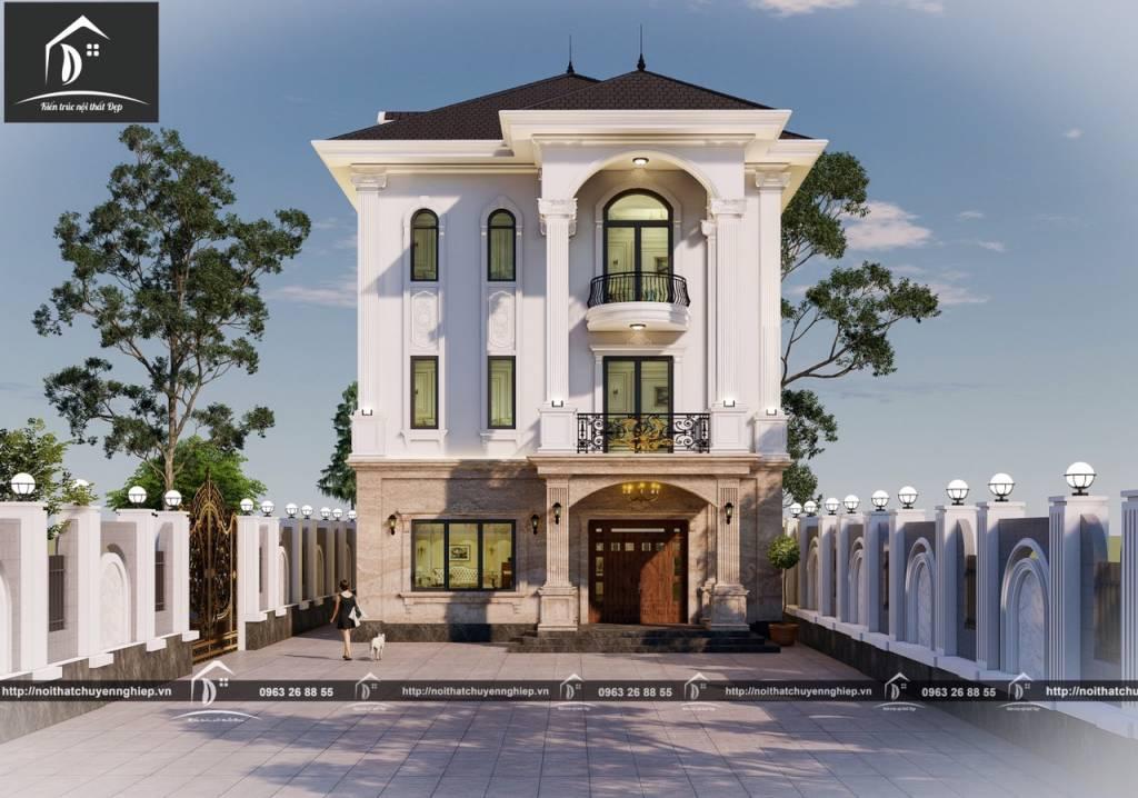 Thiết kế kiến trúc ấn tượng sang trọng và thanh lịch