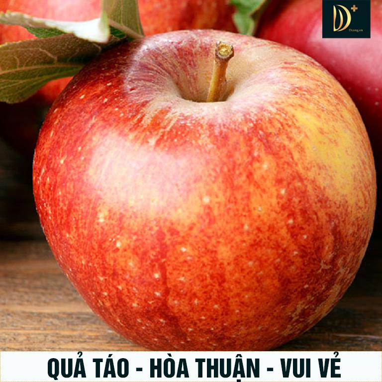 Phong thủy tốt lành của quả táo