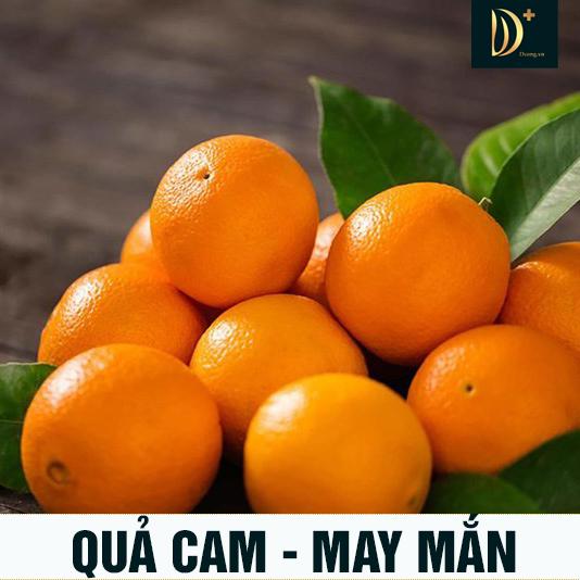 Phong thủy tốt lành từ quả cam